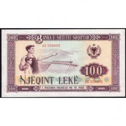 Albanie - Pick 39a - 100 lekë - Série AS - 1964 - Etat : pr.NEUF