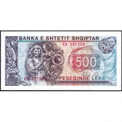 Albanie - Pick 48b - 500 lekë - Série EA - 1996 - Etat : NEUF