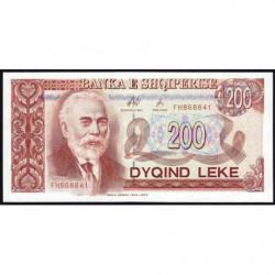 Albanie - Pick 59a - 200 lekë - Série FH - 1996 - Etat : pr.NEUF