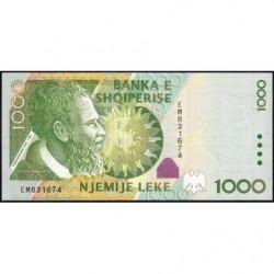 Albanie - Pick 69a - 1'000 lekë - 2001 - Etat : NEUF