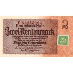Allemagne RDA - Pick 2_2 - 2 deutsche mark - 1948 - Etat : NEUF