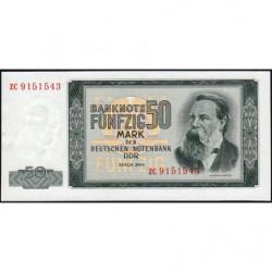 Allemagne RDA - Pick 25r (remplacement) - 50 mark der Deutschen Notenbank - 1964 - Etat : NEUF
