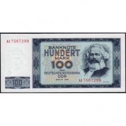 Allemagne RDA - Pick 26a - 100 mark der Deutschen Notenbank - 1964 - Etat : NEUF