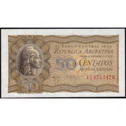 Argentine - Pick 261_1 - 50 centavos - Série B - 1951 - Etat : pr.NEUF
