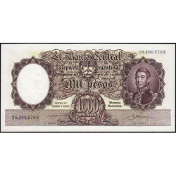 Argentine - Pick 274a2 - 1'000 pesos - Série B - 1954 - Etat : SPL