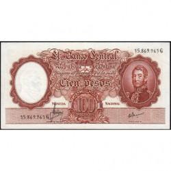 Argentine - Pick 277_2 - 100 pesos - Série G - 1967 - Etat : TTB+