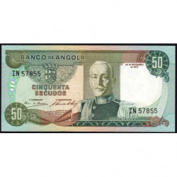 Angola - Pick 100 - 50 escudos - Série IN - 24/11/1972 - Etat : NEUF