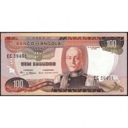 Angola - Pick 101 - 100 escudos - 24/11/1972 - Etat : SPL