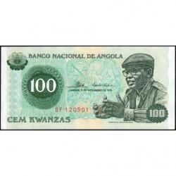Angola - Pick 111- 100 kwanzas - Série BF - 11/11/1976 - Etat : NEUF