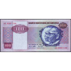 Angola - Pick 119 - 100 kwanzas - 07/01/1984 - Etat : NEUF