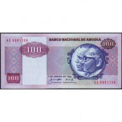 Angola - Pick 119 - 100 kwanzas - Série AE - 07/01/1984 - Etat : NEUF