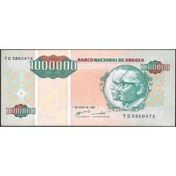 Angola - Pick 141 - 1'000'000 kwanzas reajustados - Série TD - 01/05/1995 - Etat : NEUF