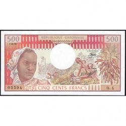 Gabon - Pick 2b - 500 francs - 1978 - Etat : NEUF