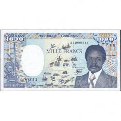 Gabon - Pick 10a_3 - 1'000 francs - 1990 - Etat : SPL