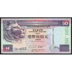 Hong Kong - Pick 202a - The H. S. B. C. Lim. - 50 dollars - 01/01/1993 - Etat : SUP