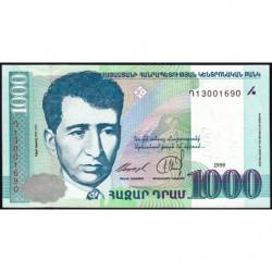 Arménie - Pick 45 - 1'000 dram - 1999 - Etat : pr.NEUF