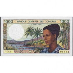 Comores - Pick 11a - 1'000 francs - 1984 - Etat : NEUF