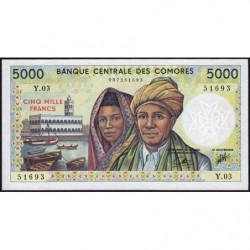 Comores - Pick 12b - 5'000 francs - 1994 - Etat : NEUF