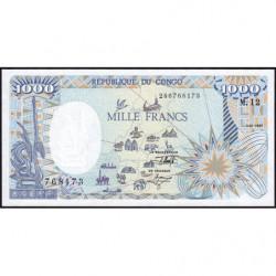 Congo (Brazzaville) - Pick 11 - 1'000 francs - 01/01/1992 - Etat : NEUF