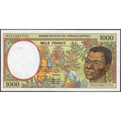 Congo (Brazzaville) - Afr. Centrale - Pick 102Ca - 1'000 francs - 1993 - Etat : NEUF