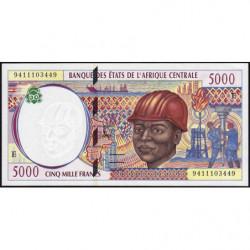 Cameroun - Afrique Centrale - Pick 204Ea - 5'000 francs - 1994 - Etat : NEUF
