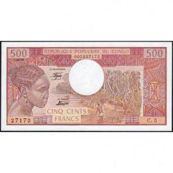 Congo (Brazzaville) - Pick 2b - 500 francs - 01/04/1978 - Etat : NEUF