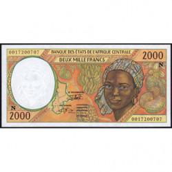 Guinée Equatoriale - Afr. Centrale - Pick 503Ng - 2'000 francs - 2000 - Etat : SPL