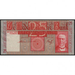 Hollande - Pick 50_2 - 25 gulden - 19/03/1941 - Etat : TTB+