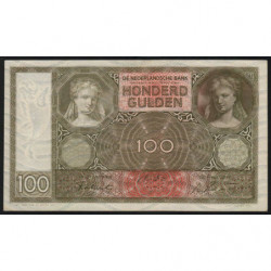 Hollande - Pick 51c - 100 gulden - 12/01/1944 - Etat : SUP