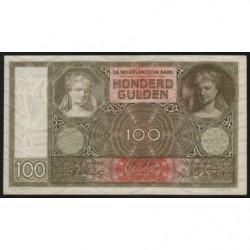 Hollande - Pick 51c - 100 gulden - 12/01/1944 - Etat : SUP