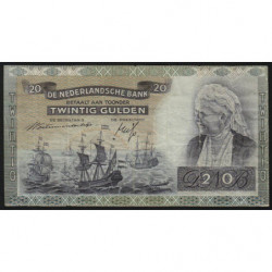 Hollande - Pick 55 - 20 gulden - 19/03/1941 - Etat : TTB-