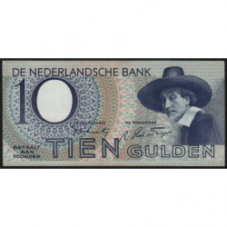 Hollande - Pick 59 - 10 gulden - 12/01/1944 - Etat : TTB+
