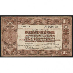 Hollande - Pick 61 - 1 gulden - 01/10/1938 - Etat : TB+