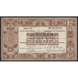 Hollande - Pick 61 - 1 gulden - 01/10/1938 - Etat : TTB