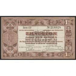 Hollande - Pick 61 - 1 gulden - 01/10/1938 - Etat : TTB