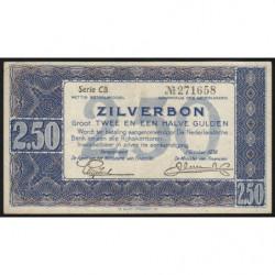 Hollande - Pick 62 - 2,50 gulden - 01/10/1938 - Etat : SUP