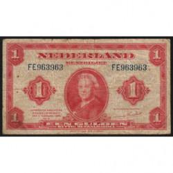Hollande - Pick 64 - 1 gulden - 04/02/1943 - Etat : TB-