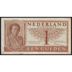 Hollande - Pick 72 - 1 gulden - 08/08/1949 - Etat : TTB-