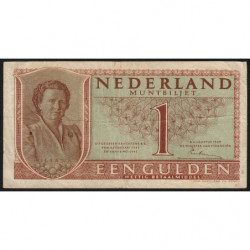 Hollande - Pick 72 - 1 gulden - 08/08/1949 - Etat : TB+