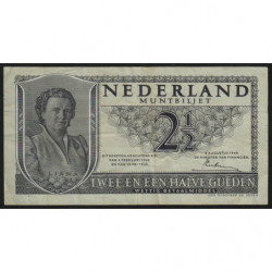 Hollande - Pick 73 - 2 1/2 gulden - 08/08/1949 - Etat : TTB-