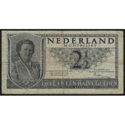 Hollande - Pick 73 - 2 1/2 gulden - 08/08/1949 - Etat : TB-