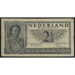 Hollande - Pick 73 - 2 1/2 gulden - 08/08/1949 - Etat : TB