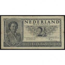 Hollande - Pick 73 - 2 1/2 gulden - 08/08/1949 - Etat : TB