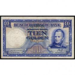 Hollande - Pick 75a - 10 gulden - 07/05/1945 - Etat : TB+