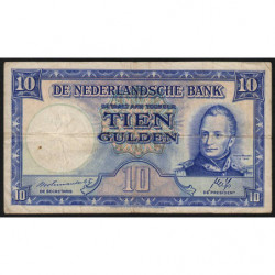 Hollande - Pick 75b - 10 gulden - 07/05/1945 - Etat : TB