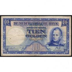 Hollande - Pick 75b - 10 gulden - 07/05/1945 - Etat : TB