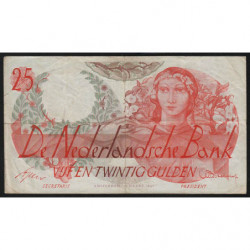 Hollande - Pick 81 - 25 gulden - 19/03/1947 - Etat : TB+