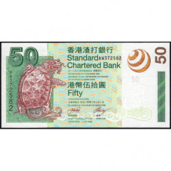 Hong Kong - Pick 292 - Standard Chartered Bank - 50 dollars - 01/07/2003 - Etat : NEUF