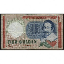 Hollande - Pick 85_1a - 10 gulden - 23/05/1953 - Etat : TB