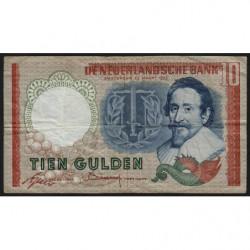 Hollande - Pick 85_1a - 10 gulden - 23/05/1953 - Etat : TB